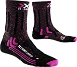 X-Socks Trekking Light Limited, Calze Donna, Rosa/Nero, 35/36