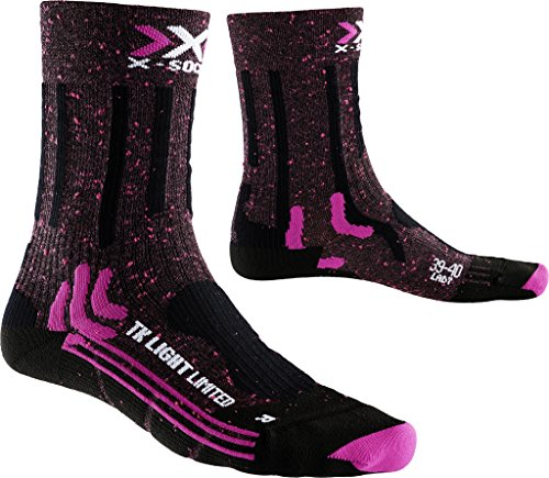 X-Socks wanderstrumpf Trekking Femme Light Limited, Femme, Trekking Light Limited Lady, Rose/Noir