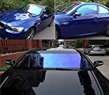 New Vision Heat Control 70% VLT,99% UV and 90% IRR auto tinting Film Color Changing shinyh Colorful Chameleon Window Tint (30inch118inch)