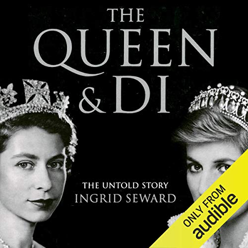 The Queen and Di audiobook cover art