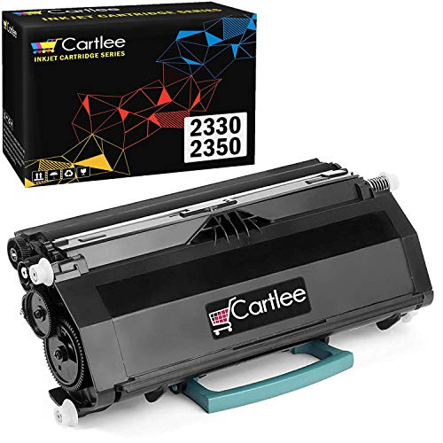 Cartlee 1 Black Remanufactured High Yield Laser Toner Cartridge Premium Replacement for Dell 2330, 2330D, 2330DN, 2350, 2350D, 2350DN 330-2650 Printers PK941 Ink Fits with PK496 PK937 DN