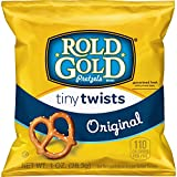 Pack of 40 one ounce bags. Packaging may vary Small pretzel twists in a convenient package Baked, not fried These much loved treats are fun to enjoy at lunch, as an after-school snack, or party refreshment Easy to carry, easy to store, and easy to pa...
