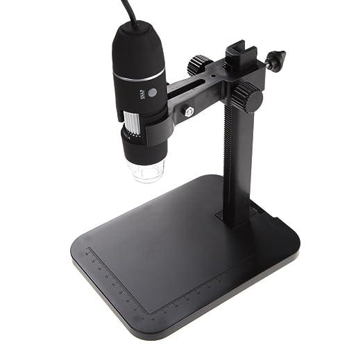 Rrimin 1000X 8 LED 2MP USB Digital Microscope Magnifier Camera+Lift Stand