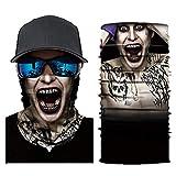 Windproof Face Mask Bandanas for Raves Festivals Riding Outdoors Balaclava Magic Scarf