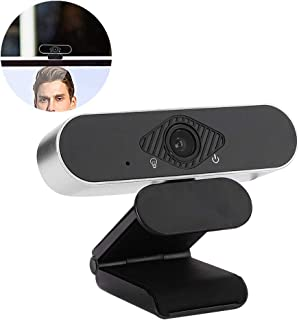 fosa1 1080P HD Webcam, Computer Web Camera Plug-and-Play Video Call Recording Conference Webcam PC Laptop Desktop USB Webcams for Windows/Android/Linux System