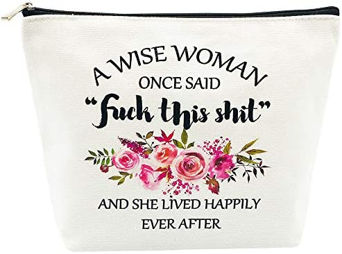 Birthday Gifts for Women Retirement Gifts Best Friend Mothers Day Gifts A Wise Women Once Said product image