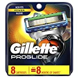 Gillette Fusion5 ProGlide Men's Razor Blades, 8 Count Blade Refills (Packaging May Vary)