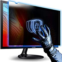 22.0 Inch - Computer Privacy Screen Filter for Widescreen Computer Monitors Anti-Glare - Anti-Scratch Protector Film for Data Confidentiality - 16:10 Aspect Ratio - Stop Giving Unrestricted Access