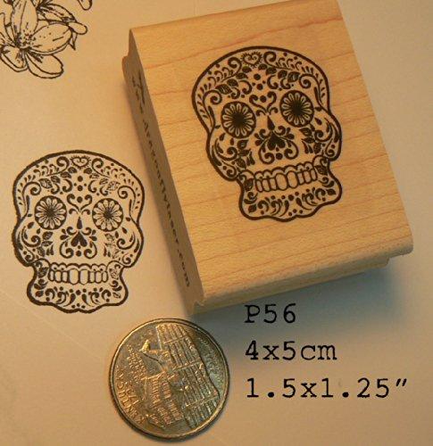 Best sugar skull rubber stamp for 2020