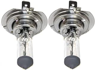Headlight Bulb compatible with Plymouth Belvedere 70/ Cadillac Deville 94-94/Mercedes Benz SL600 95-11/X1 12-13/I3 14-15 RH and LH Halogen 55 Watts Single C-8 Filament compatible with Both High Beam