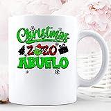 N\A Navidad 2020 The Grinch Abuelo Navidad Temporada de Vacaciones Grupo a Juego con la Familia Taza de cerámica Tazas de café gráficas Tazas Blancas Tapas de té Novedad Personalizada 11 oz