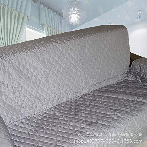 TOMSSL Pet Sofakissen Sofa 53cm X 183cm Wasserdicht Gesteppte Kissen Sofakissen Heimschutzmatte, 116cm X 188cm, 167cm X 190cm (Farbe : Gray, Size : 53cm x 183cm)