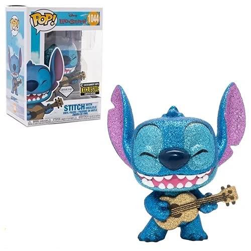 Figura de vinilo Lilo & Stitch con ukelele Diamond Glitter Pop! – Entertainment Earth Exclusive