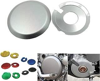 MMKUTZ - CNC Engine Ignition Clutch Cover Case Guards for Suzuki DRZ 400 S SM E DRZ400E DRZ400S DRZ400SM Kawasaki KLX400 All Year Motor