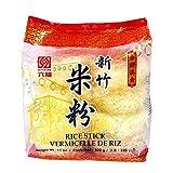 Six Fortune Xing Zhu - Palos de arroz de 320 g - Vermicelli tradicional chino de arroz que es fácil de preparar y ideal para batir todo tipo de comidas rápidas con.
