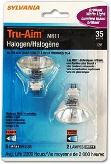 Sylvania #55126 - OSRAM FTH 35w 12v MR11 FL35 Light Bulb - 2 Pack