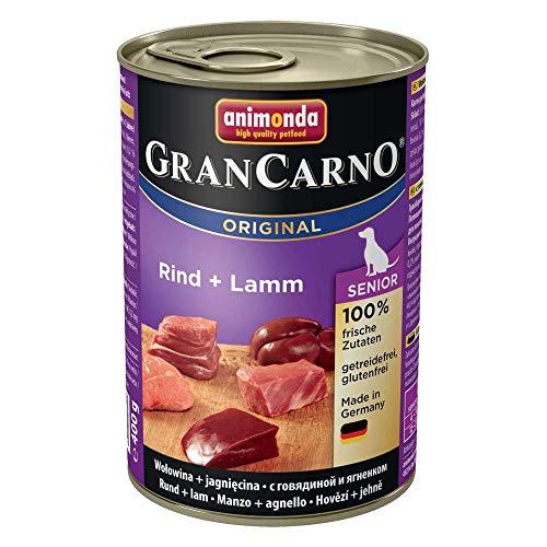Animonda GranCarno Original Senior - Rind mit Lamm - 6 x 400 g