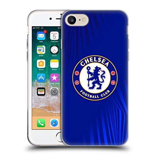 Head Case Designs Offizielle Chelsea Football Club Super Grafik Wappen Soft Gel Huelle kompatibel mit Apple iPhone 7 / iPhone 8 / iPhone SE 2020