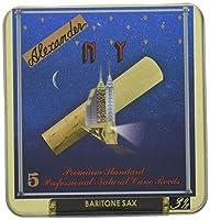 Alexander (アレクサンダー スペリアルNY) リード スペリアルNY 5枚 バリトン サクソフォーン 用 3 1/2