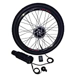 ELECYCLES 36V250W Wireless Electric Bike Conversion Kit EEKit (36V7AH LG battery, 26X1.95)