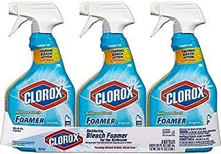 Clorox Bathroom Foamer with Bleach, Spray Bottle, Original, 30 Ounces 3.02 x 4.92 x 10.13 Inches
