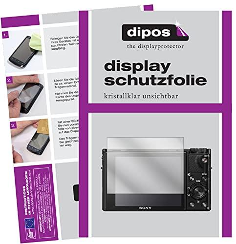 dipos I 6x Pellicola Protettiva compatibile con Sony Cyber-Shot DSC-RX100 Pellicola di Protezione cristallo
