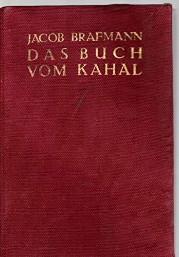 Das Buch vom Kahal - Erster Band -