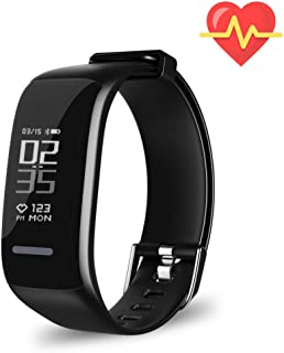 XZHI Fitness Tracker HR, Activity Tracker Watch with Heart Rate Monitor, Waterproof Smart Fitness Band with Step Counter, Calorie Counter, Pedometer Watch for Kids Women and Men