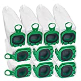 DrRobor 10 Sacchetti per Vorwerk Sacchetto Filtro per Folletto VB100 Aspirapolvere