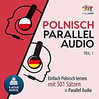 Couverture de Polnisch Parallel Audio [Polish Parallel Audio - Learn Polish with 501 Sentences in Parallel Audio]