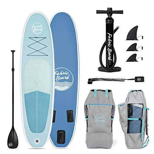 FabricBoard Paddle Surf Hinchable, Unisex-Adult, Océano Azul, Large