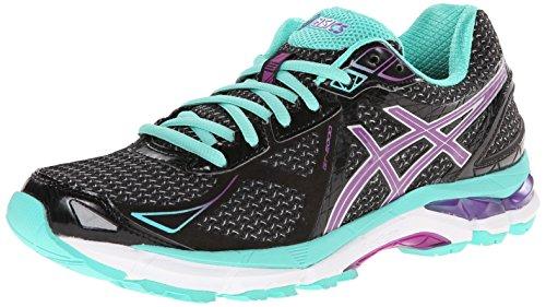 Zapatillas de trail running GT-2000 3 para mujer Black / Purple / Emerald 6 B - Medium