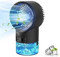 Refroidisseur d'air Portable Climatiseur Mobile, EEIEER Climatiseur Portable Ventilateur Air Humidificateur Conditionneur...