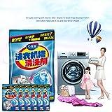 jaspenybow Waschmaschine Tankreiniger, effektive Dekontamination und Desodorierung OEM Küchen- und Badreinigungs- und Reinigungsmittel Wäschetankreiniger 90g