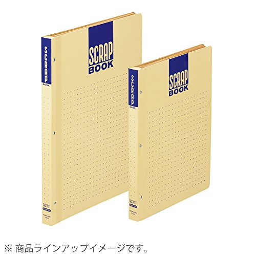 コクヨ『スクラップブックDとじ込み式・ドットガイド入り』