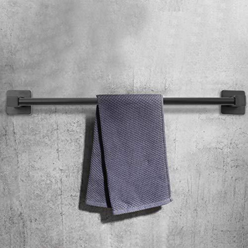 Rail de suspension pour serviettes de 50 cm, porte-serviettes en acier inoxydable facile à nettoyer Étagère de rangement pour serviettes de salle de bain facile à installer pour la cuisine