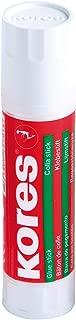 Kores 12202-12- Juego de 12barras de pegamento sólido, lavable y no tóxico, 20 g