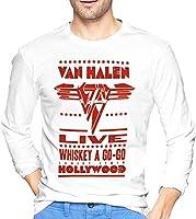 TOPOI ロングスリーブ Van Halen Tシャツ ロンt 長袖 トップス メンズ カットソー 綿100% Tシャツ 長袖 シャツ