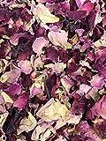 Stripey Finds Classic Collection - Confeti de boda biodegradable natural de 1 litro de color burdeos y rosa vintage, ideal para 10-12 invitados (58)
