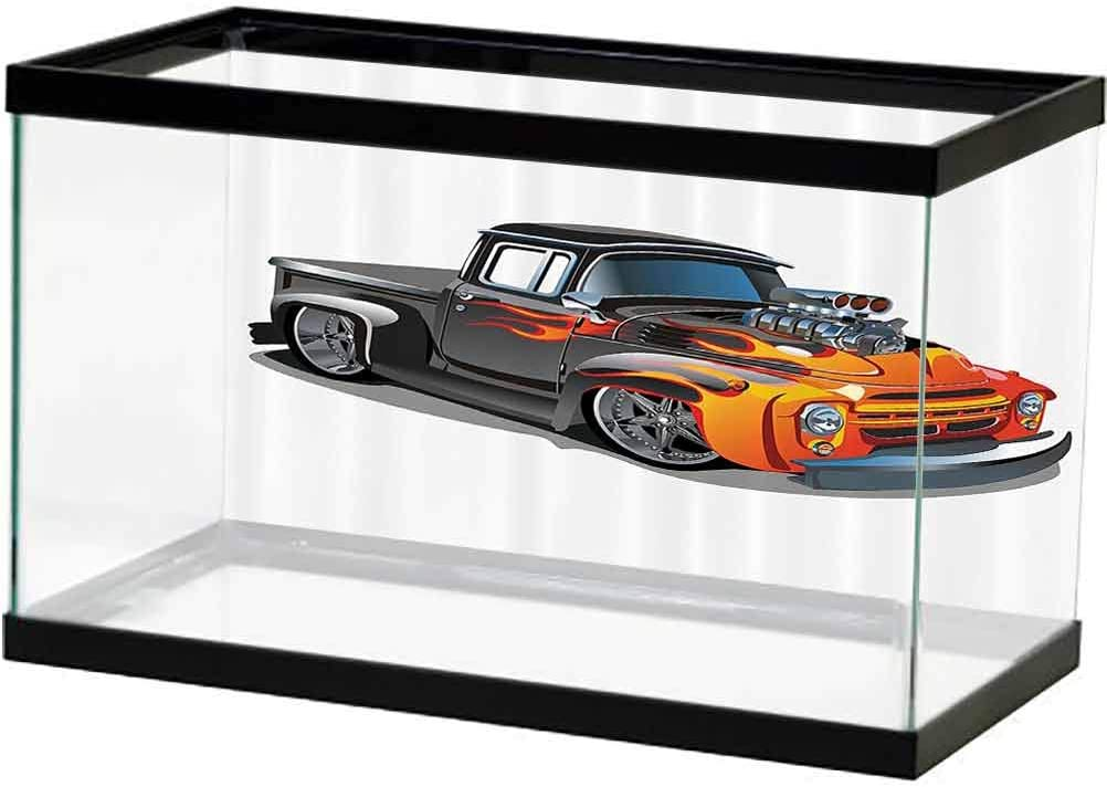 Manly Decor Factory outlet Collection Seabed World Max 70% OFF Hot Car Rod Cartoon Backdrop