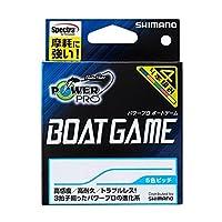 シマノ(SHIMANO) PEライン パワープロ ボートゲーム 200m 4.0号 マルチカラー PP-F62N 釣り糸