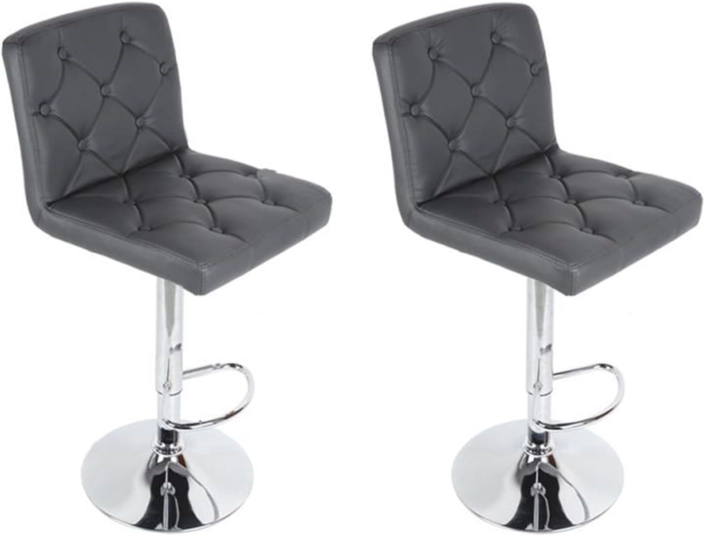 paritariny Manufacturer OFFicial shop Bar Stools Chairs 2pcs Gas B Adjustable Lift Set Max 87% OFF