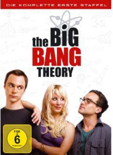 Cover The Big Bang Theory - Die komplette erste Staffel [3 DVDs]