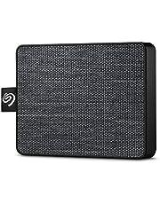 Seagate One Touch SSD 500GB 黒 外付 ポータブル PS4対応 3年保証 Win Mac USB 3.0 安心サポート有 正規代理店品 STJE500400