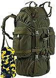 Wisport großer Backpacker Rucksack 55L Damen Herren I Work Travel Rucksäcke Mädchen Jungen I...