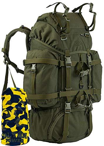 Wisport Reindeer Hunt Rucksack 55 Liter | Cordura | Militär | Wandern | Outdoor | Camping | Jagen | Fischen, Tarnung:Brown