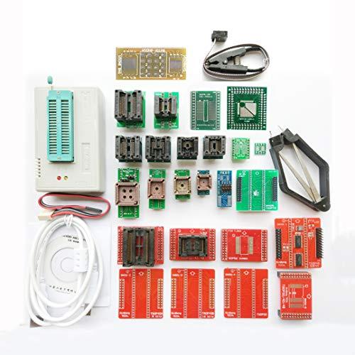 SETCTOP TL866II Plus USB chip Programmer +27 Adapter Socket SOP8 Clip 1.8V nand nor Flash 24 93 25 mcu Bios EPROM AVR eprom