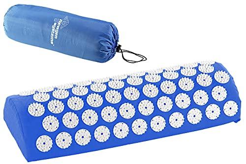 newgen medicals Entspannungskissen: Entspannungs-Nackenkissen mit 2442 Druckpunkten, 44 x 17 x 9 cm (Nackenkissen mit Massagefunktion)