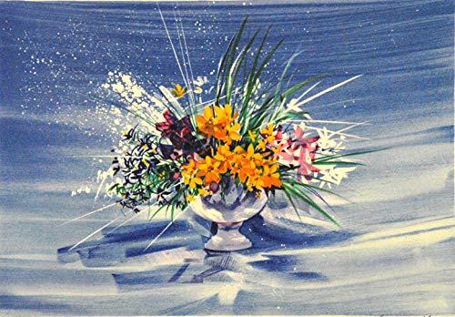 ギャルリー亜出果 クロード・マルス 黄色い花びら cm-1