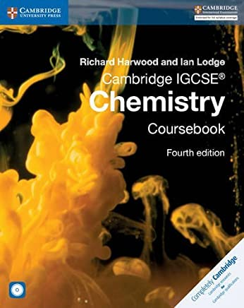 Cambridge IGCSE Chemistry Coursebook with CD-ROM (Cambridge International IGCSE) by Richard Harwood Ian Lodge(2014-09-15)